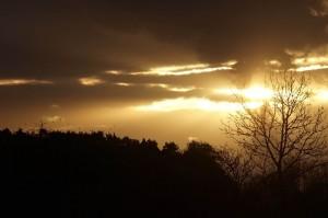 Ominous sunset 2