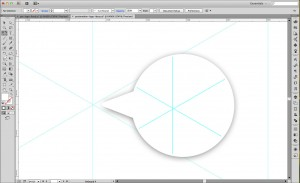 Less than exact isometric grid