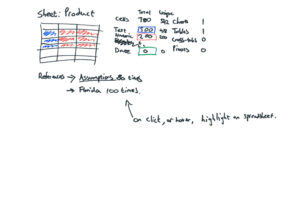 Spreadsheet Summary - Sketch 8
